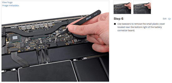 iFixit - Step by Step Instructions