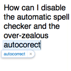 How to Disable Automatic Spelling Correction in Mail and Safari