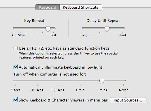 How to Type Common Symbols and Special Characters in Mac OS X