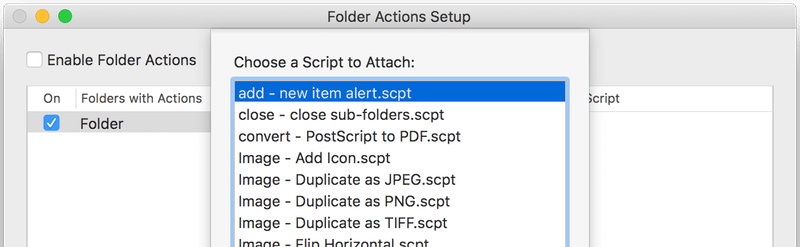 Automate Repetitive Tasks on Your Mac with Folder Actions